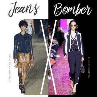 Duelo Fashion com jeans e bomber