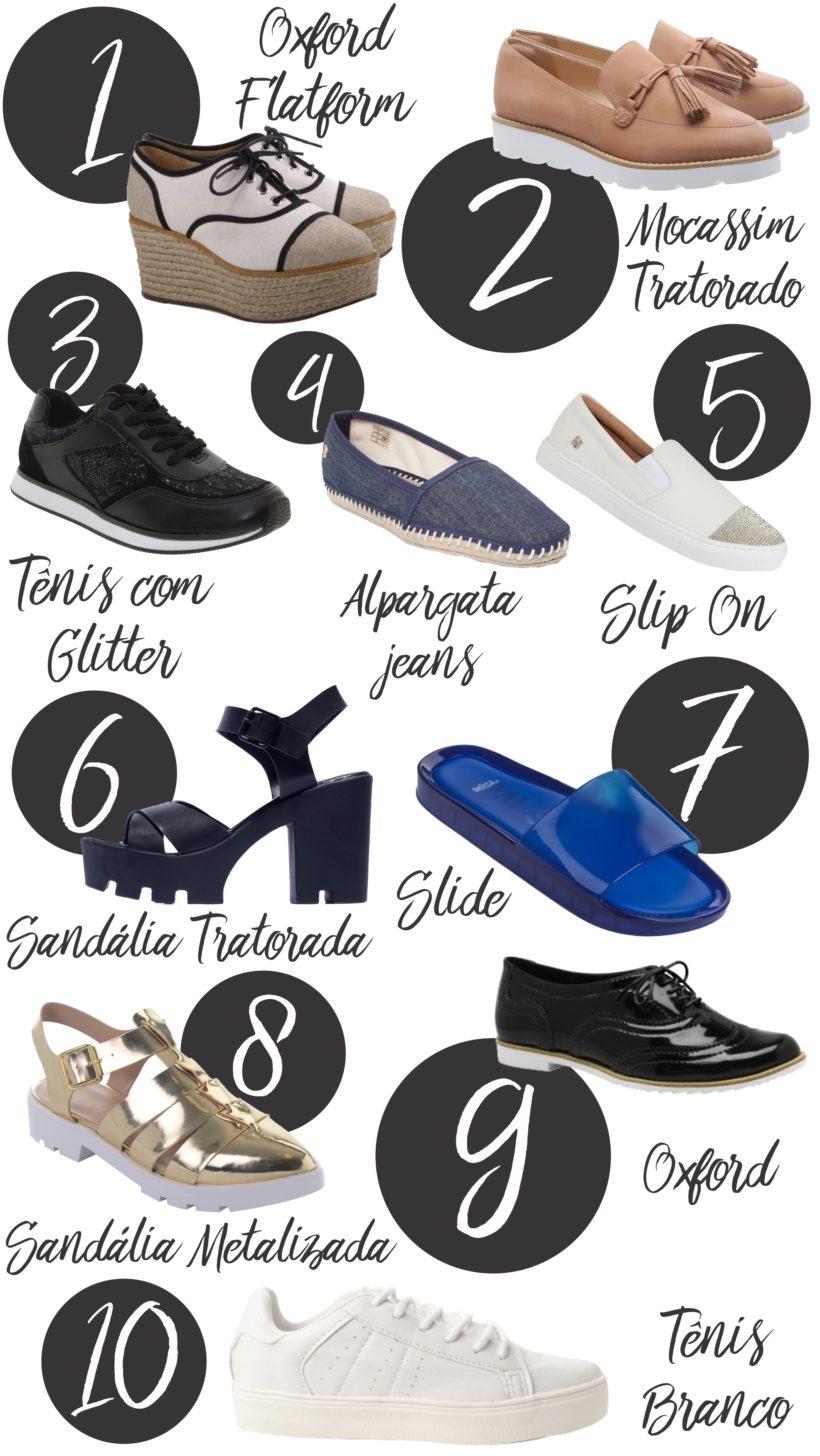 Dicas de sapatos confortáveis e estilosos
