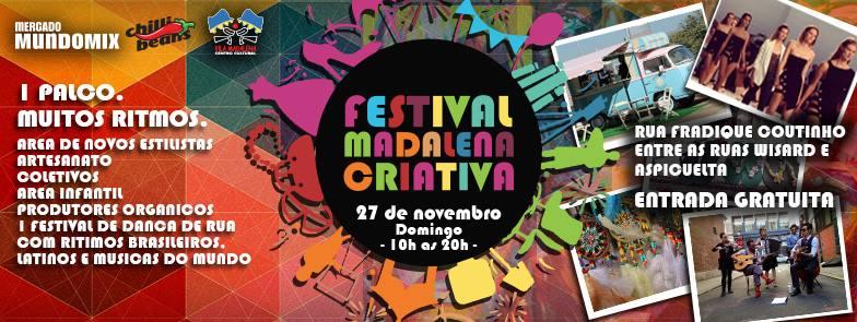 Festival Madalena Criativa Mercado Mundo Mix