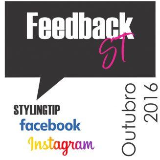 Feedback das leitoras no blog e nas redes sociais