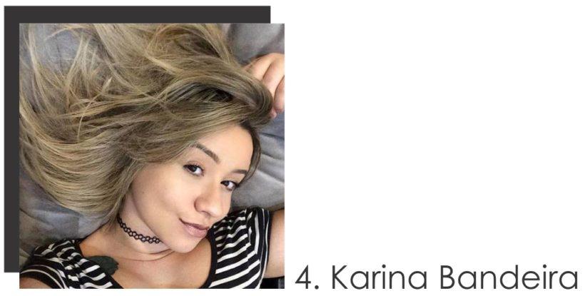 Karina Bandeira colaboradora do mês de Dezembro 2016 do STYLING TIP