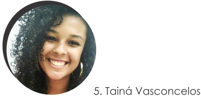 Taína Vasconcelos colaboradora do STYLING TIP