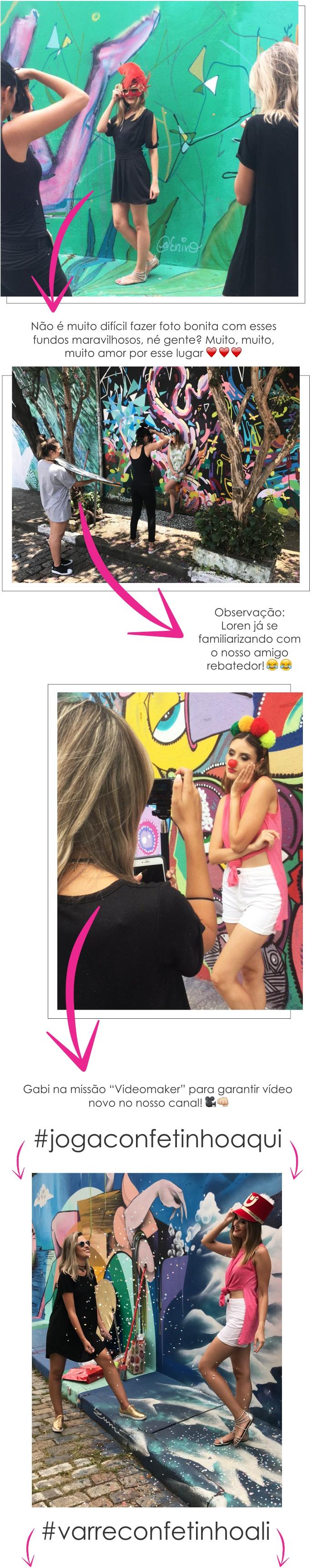 """Making of do editorial de moda """"Vem pra folia!"""" do STYLING TIP"""