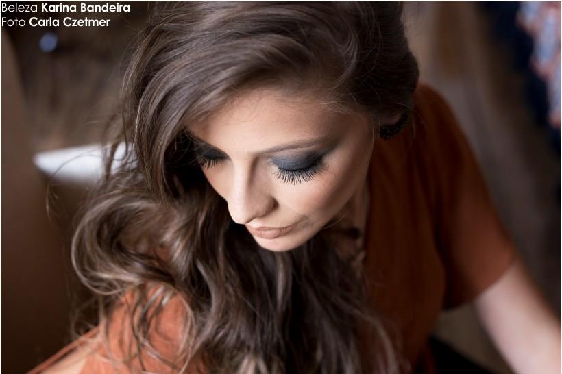 Maquiagem Karina Bandeira para editorial STYLING TIP