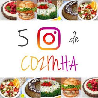 5 perfis no Instagram para aprender a cozinhar