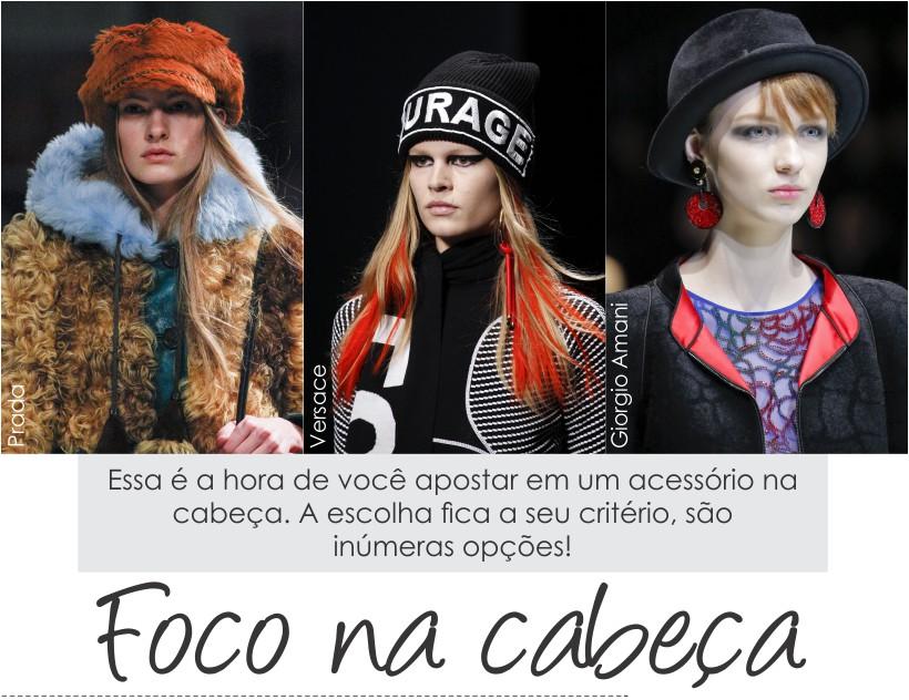 Toca, chapéu e boina são tendências de moda nesse inverno