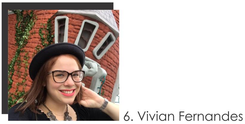 Vivian Fernandes Colaboradora do mês de Abril 2017 do STYLING TIP