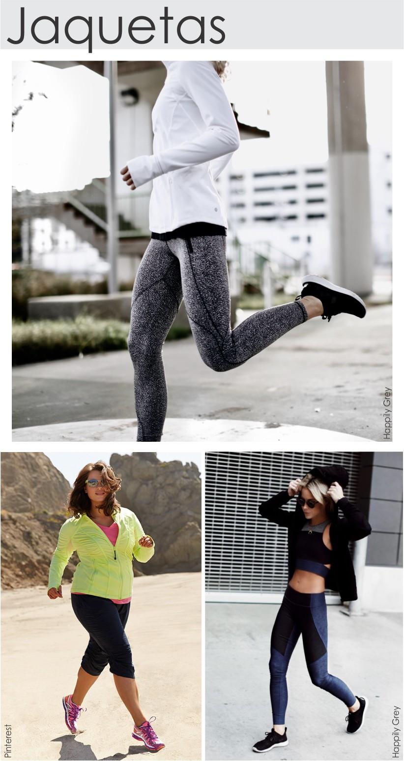 Dicas de estilo com jaquetas para o look fitness