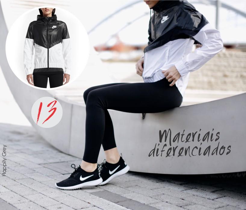 Dicas de estilo com materiais diferenciados para o look fitness