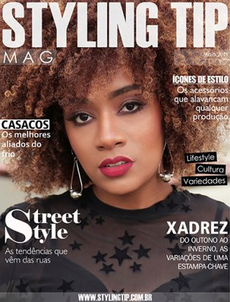 Capa da revista digital STYLING TIP maio 2017