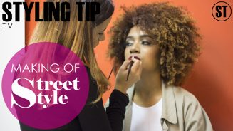 Making of editorial Street Style Maio 2017 STYLING TIP