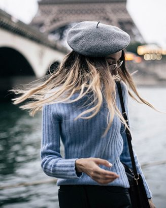 Dicas de como usar toucas, boinas e chapéus no Inverno