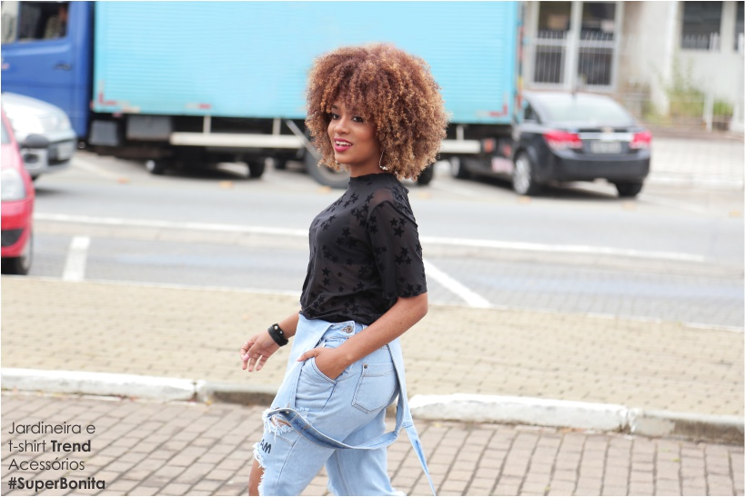 Blogueira Sara Oliveira no editorial STREET STYLE do STYLING TIP