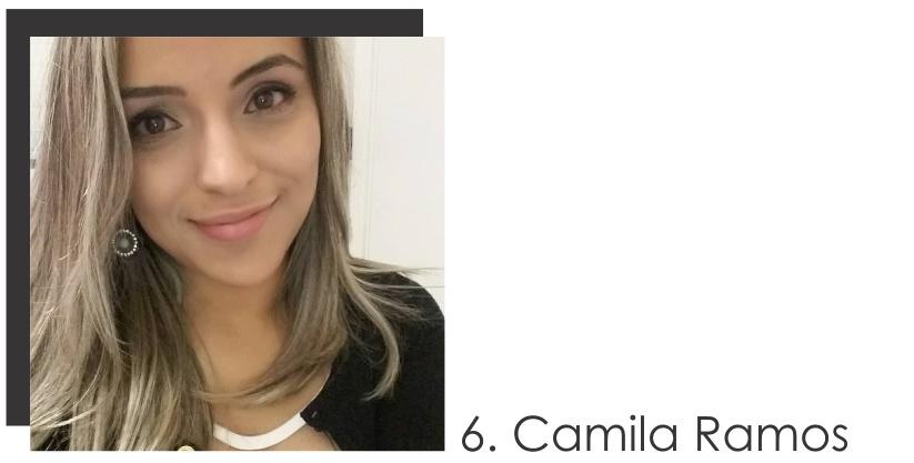 Camila Ramos Colaboradora do mês de Julho 2017 do STYLING TIP