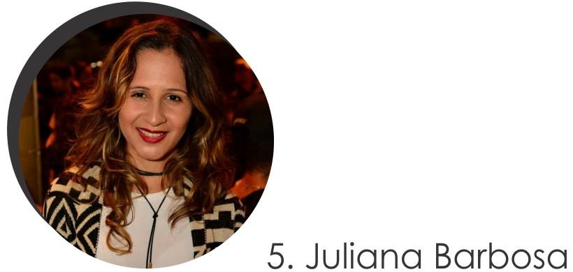 Juliana Barbosa Colaboradora do mês de Julho 2017 do STYLING TIP