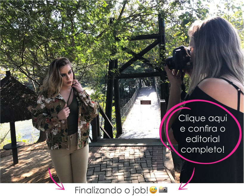 Fotos de making of da edição de Agosto do STYLING TIP