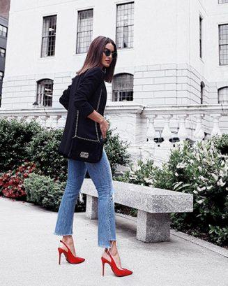 Tendências de jeans para próxima Primavera Verão 2017 e 2018