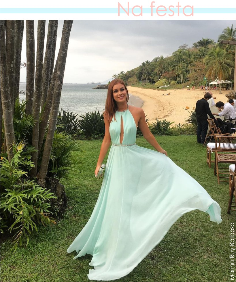Marina Ruy Barbosa veste vestido verde candy color