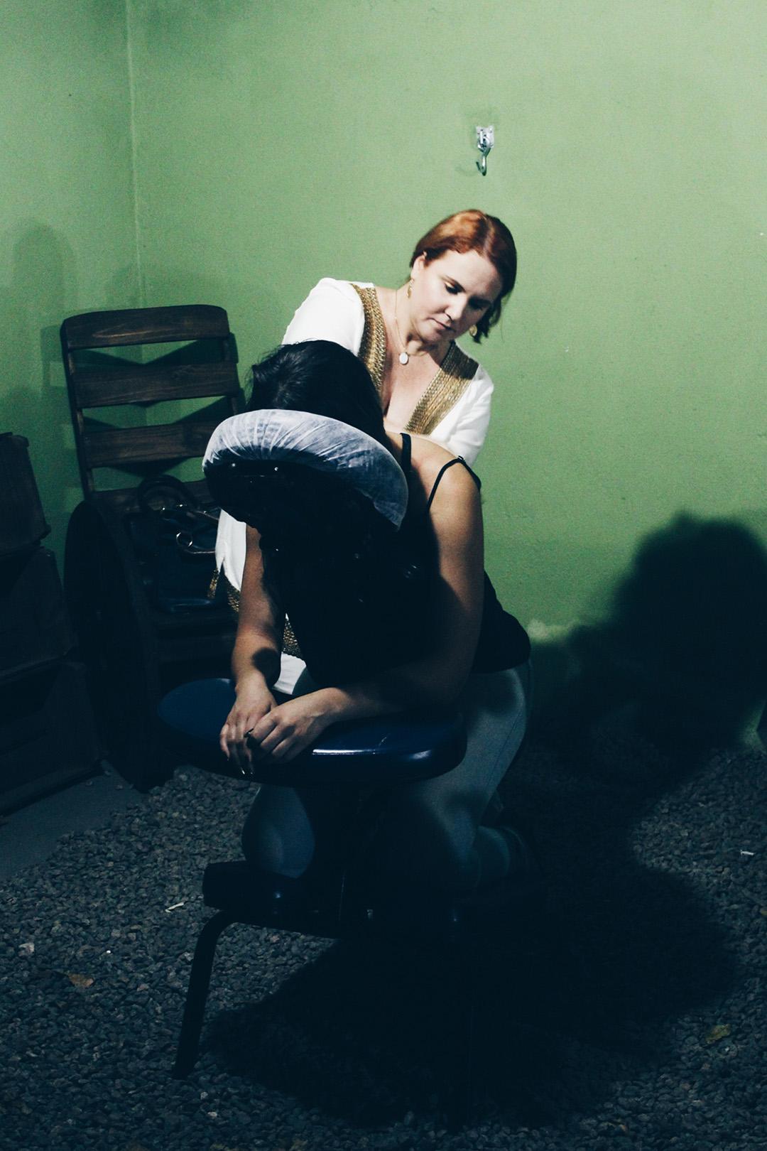 Quick Massage Vanessa Angelo