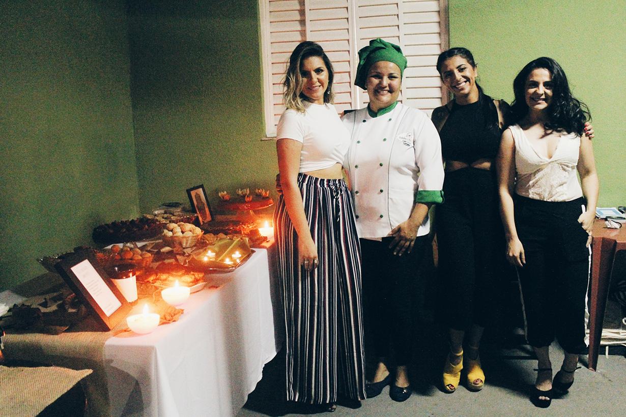 Parceria de sucesso entre o restaurante Fininha o ano todo e loja Morena Flor Roupas