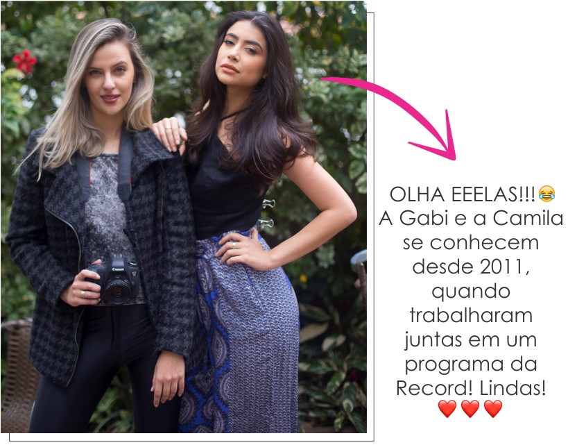 "Making of: Editorial ""Sinta o frescor"" - Gabi Fernandes e Camila Lima"