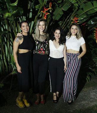 STYLING TIP marca presença no coquetel de lançamento da loja Morena Flor