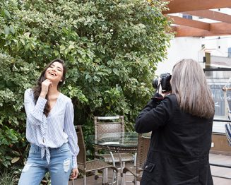 "Making of: Editorial ""Sinta o frescor"""