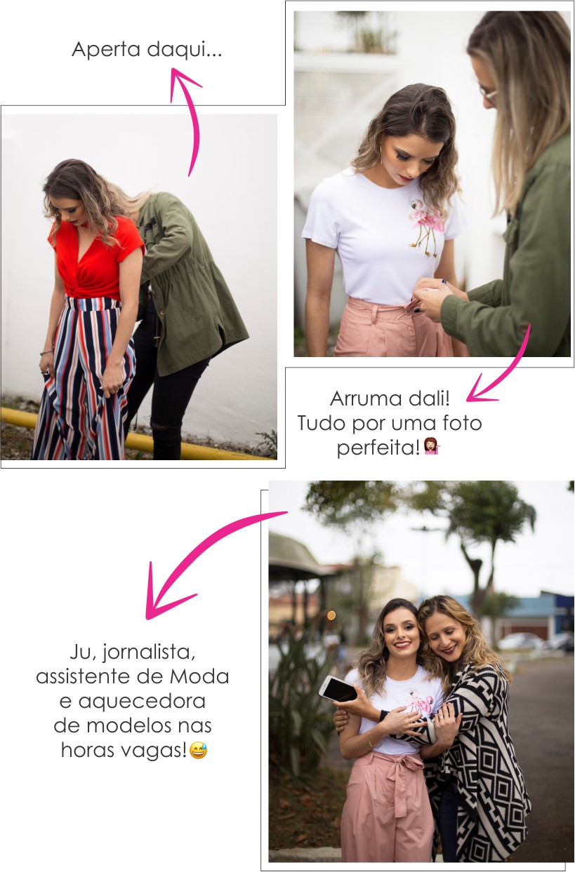 Making of do editorial #VocêCapaDoST