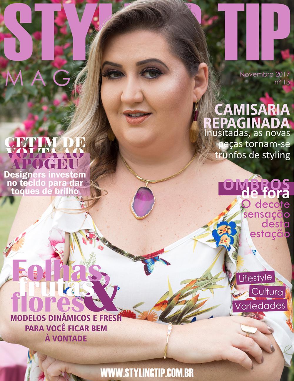 Capa 1 STYLING TIP Mag - Novembro 2017