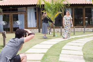 "Making of: Editorial ""Folhas, frutas e flores"""