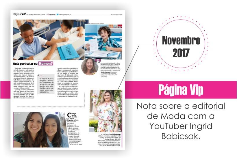 STYLING TIP na Página Vip - Suzano