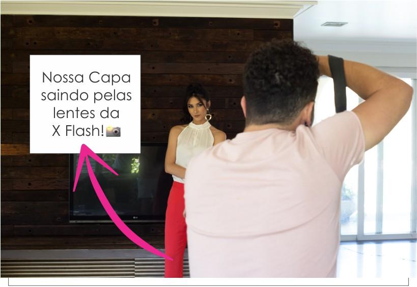 Nossa Capa saindo pelas lentes da X Flash!