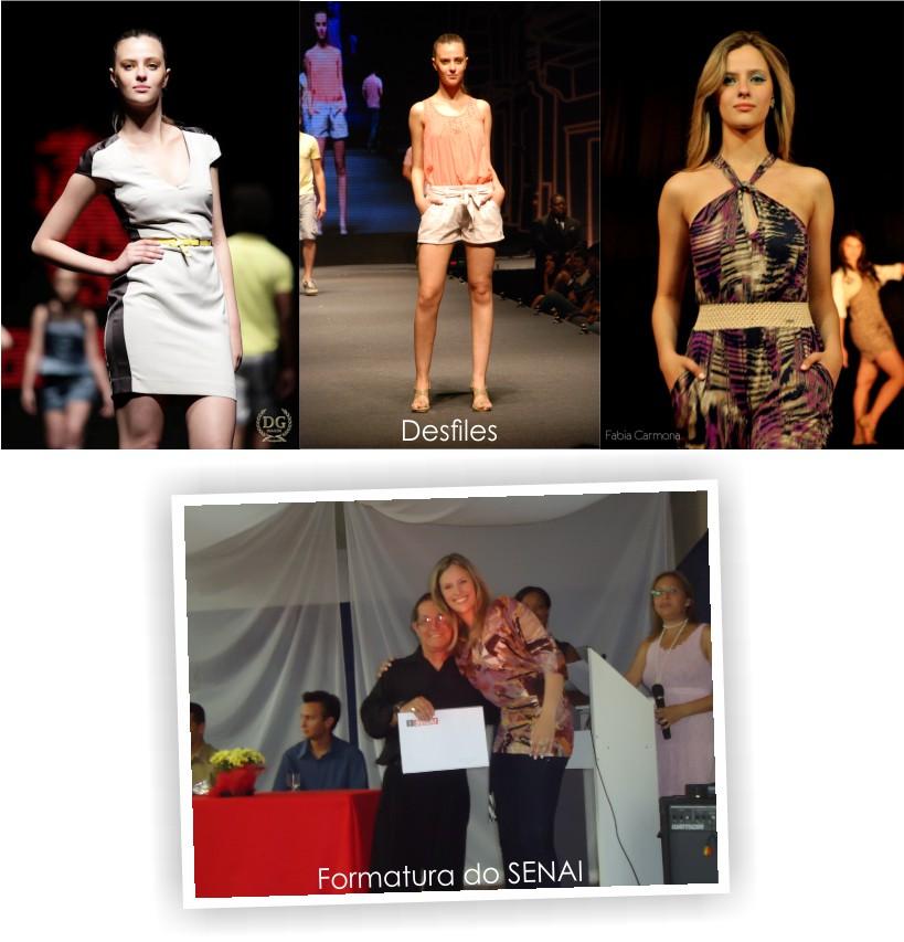 Desfiles de Moda e formatura no SENAI