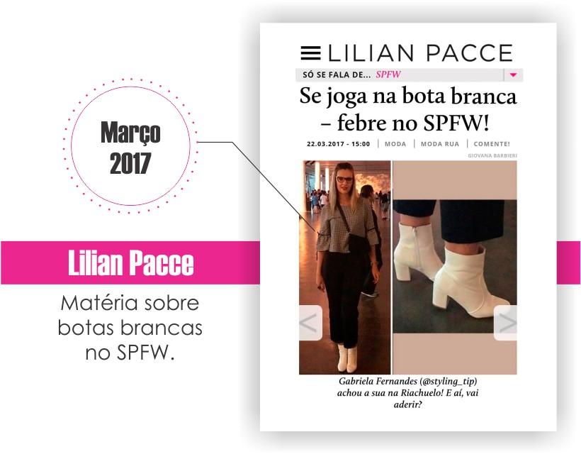 Gabi Fernandes no site da Lilian Pacce.