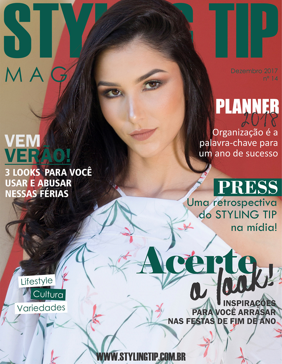 Capa 1 STYLING TIP Mag - Dezembro 2017