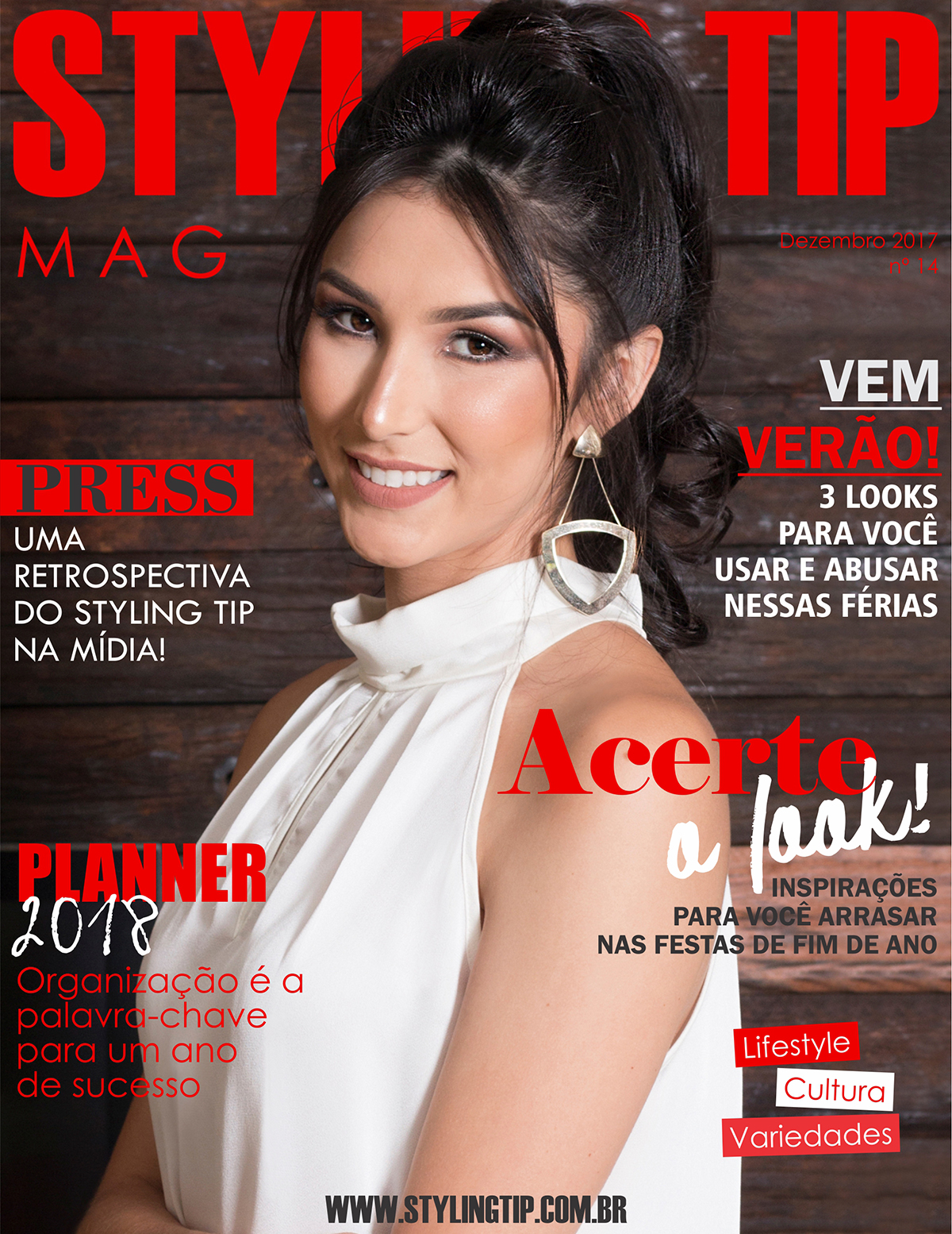 Capa 2 STYLING TIP Mag - Dezembro 2017