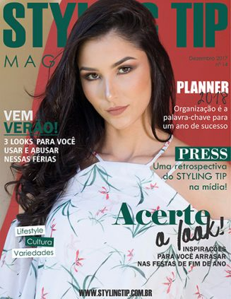 Capa STYLING TIP Mag - Dezembro 2017