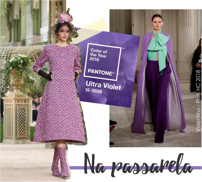Ultra Violet na Paris Haute Couture.