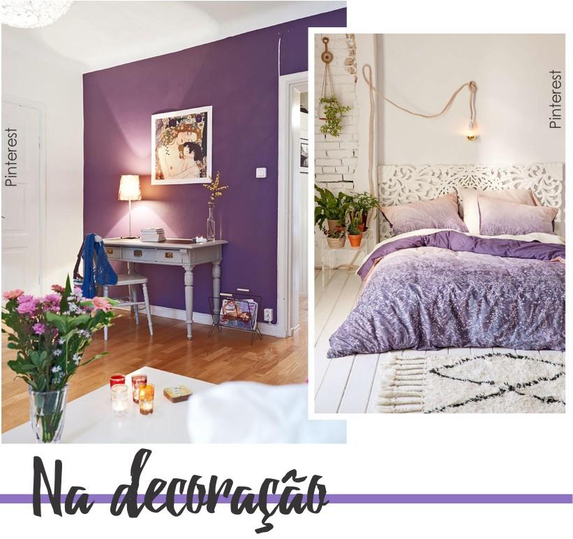 Ultra Violet na decoração.