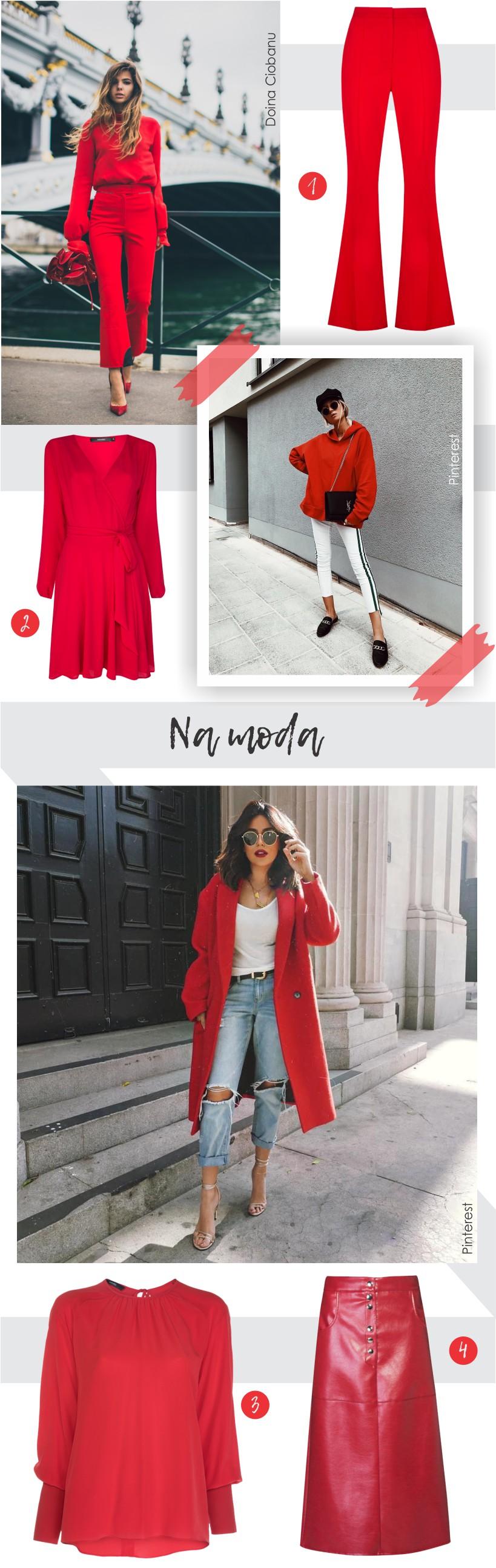 Vermelho no street style ao redor do mundo.