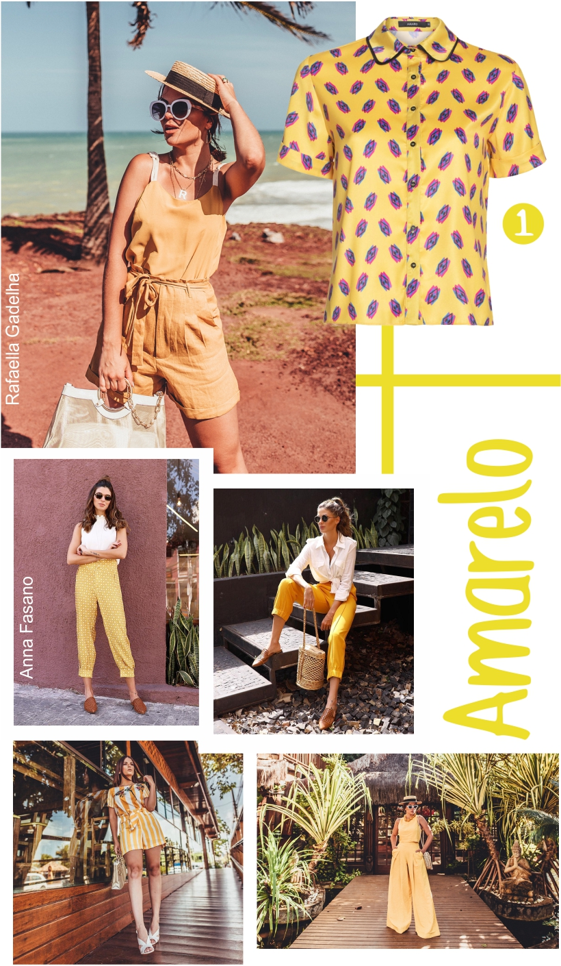 Amarelo é cor mais desejada do Verão 2019.
