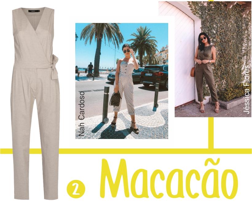 Macacão é a peça única mais confortável do guarda-roupa feminino.