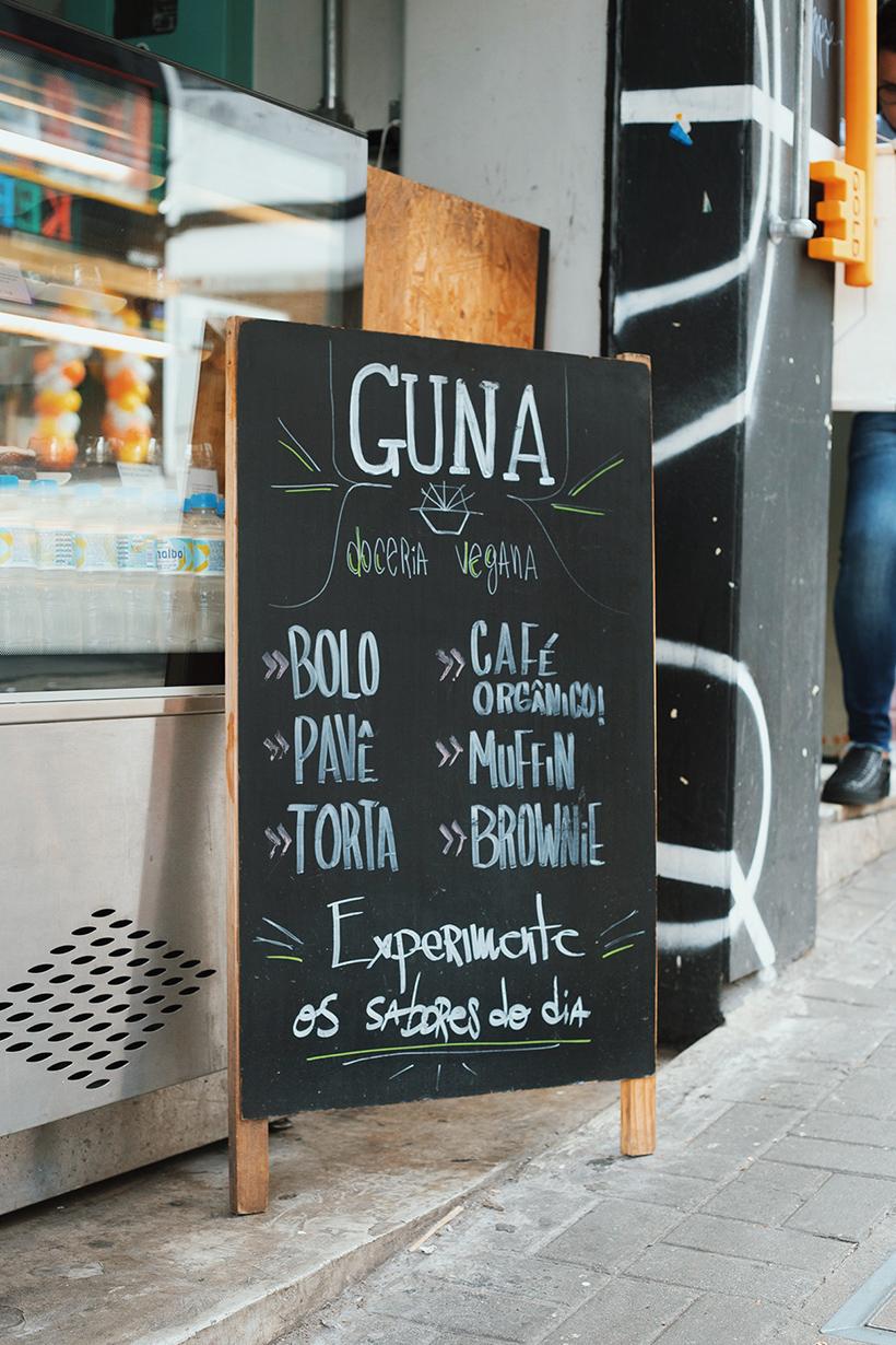Guna Vegan: doces veganos na Rua Augusta.